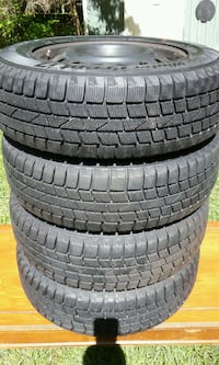 Hankook snow tires rims.. Sandown, 03873
