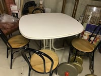 White dining table or cards table  Ajax, L1S 5B4