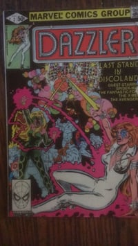 Marvel Comics Group Dazzler #2 Last Stand In Disco Land Baltimore, 21223