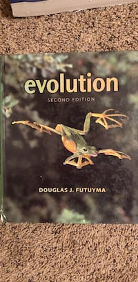 Evolution 2nd edition by douglas j. futuyma book Tucson, 85713