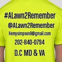 Lawn Services Snow Removal Leafs Clean Up  Washington, 20032