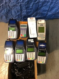 Used credit card machines