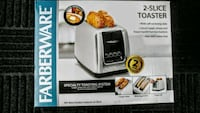 Farberware 2 Slice Stainless Toaster (new) Port Dover, N0A 1N6