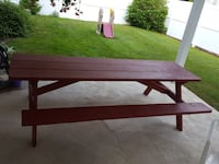 Large heavy pressure treated wood Picnic Table Sinclairville, 14782