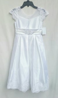 Girls size 7 Brand New Bonnie Jean Formal Dress Los Angeles, 90032