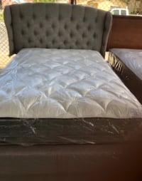 Full bed with new mattress  Bakersfield, 93307