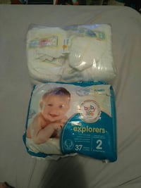 Newborn Pampers / size 2