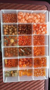 Orange assorted beads Union Bridge, 21791
