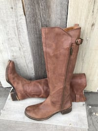 Lucky Brand Brown leather boots. Size 8.5 Orem, 84058