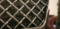 Tearia Chrome Wire Mesh Grilles grill for Cadillac