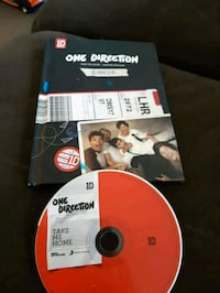 One Direction take me home year book comes with cd Hamilton, L8W 1T8