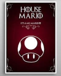 House Of Mario Metal  Poster - New Vancouver, V6C 0A8