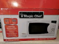 New magic chef counter microwave oven