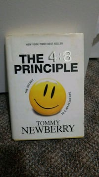 The 4:8 Principle book by Tommy Newberry New Westminster, V3M