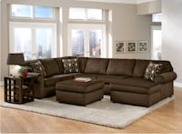 Corduroy 3 Piece Sectional-$ 50 DELIVERY  Sterling, 20164