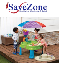 New-The Step 2 Company, Splash And Scoop Bay with Umbrella
