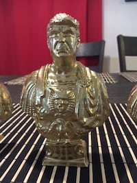 Gold Donald trump statues Woodway, 76712