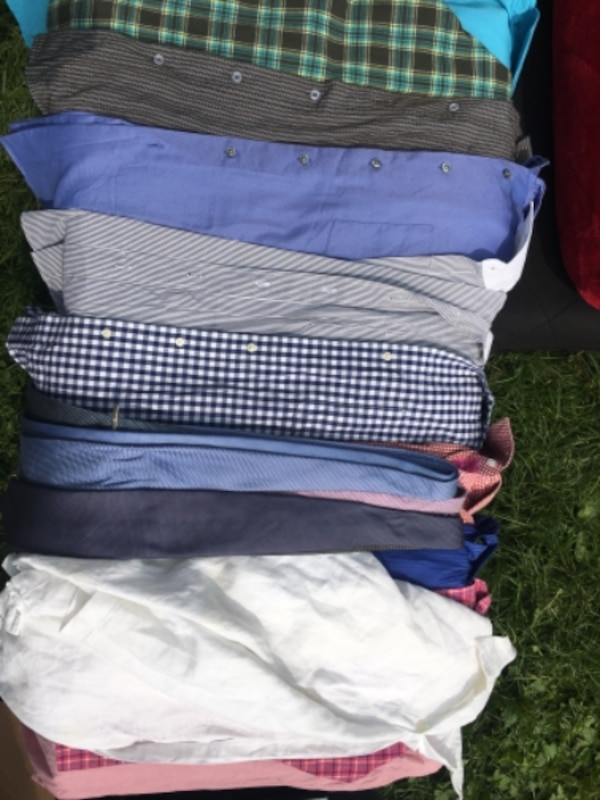 four assorted color of pants