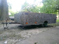 red and black utility trailer Memphis, 38117