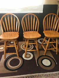 3 swivel stools, can deliver, see more info  Edmonton, T5E 3M6