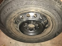 4 Goodyear tires 120/65/R15 used for a Toyota Camry $50 for all tires Frederick, 21703