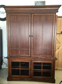 """Entertainment Center holds up to 52"""" TV  Greensboro, 27406"""