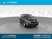 2018 Chevy Chevrolet Equinox suv LS Sport Utility 4D Gray Brentwood
