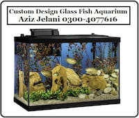 Custom Design Fish Aquarium Lahore