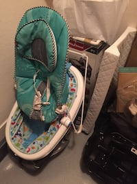 Baby stuff - bouncer, car seat, bottle sanitizer, tub, changing pad etc (all for one price)