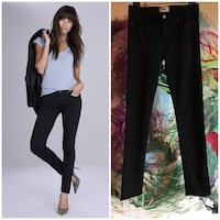 Anthropologie PAIGE black skinny jeans size 30 -EUC  Rochester Hills, 48309