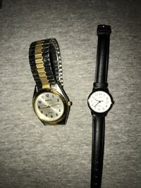 Watches timex and brut