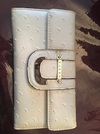 white and brown leather Louis Vuitton belt