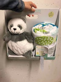little loveable blanket And plush 2 pieces set