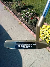 Golf club odyssey DUAL FORCE PUTTER BRAND NEW W/HE Citrus Heights, 95621