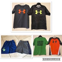 Boys Under Armour clothes size 6  Riverside, 92507