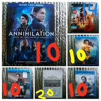 12 New DVD/Blu-ray Vancouver, 98663