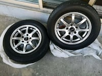 FAST CHROME RIMS WITH TIRES  Mississauga, L5G 4K3
