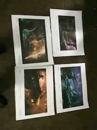 Signed posters Dead Space and Alice in Wonderland Radcliff, 40160