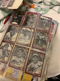 Entire baseball (MLB ) Card Collection with NBA & NHL Cards