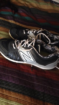 New Balance Baseball Cleats. Paid 120, only worn in practice a handful of times. Size 10.5