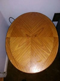 round brown wooden table top Reading, 19605