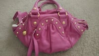 Rough Roses Pink Leather purse Citrus Heights