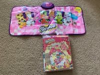 shopkins bed set and piano  Woodbridge, 22191