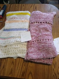 white and pink knitted sweater Fulton, 13069