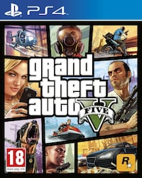 Grand Theft Auto Five PS4