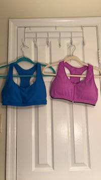 Women's assorted-color sports bras