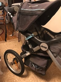 Jeep overland limited jogger stroller with front fixed wheel Boston