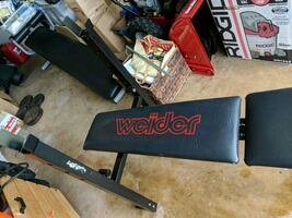 Weider Weight Bench with Arms & Leg Adapters