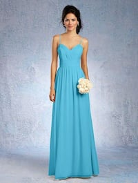 Women's teal spaghetti strap sweetheart bridesmaid dress Glen Burnie, 21060