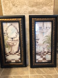 Two Framed Wall Decor - Kirklands Deer Park, 77536